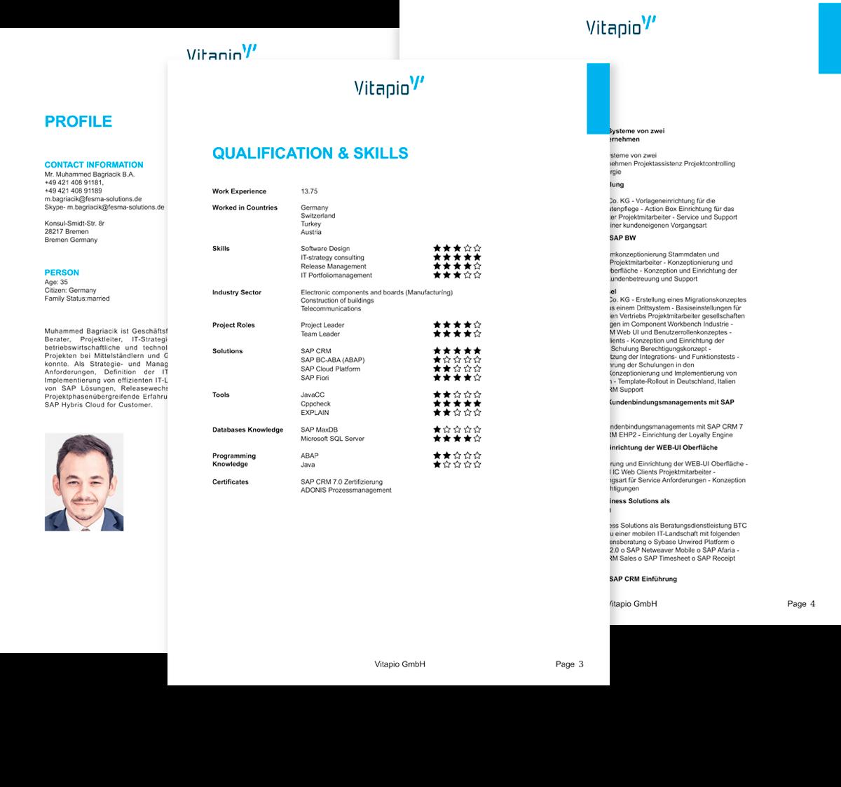 Profil-Beispiele